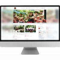 フラホウラウナのウェブサイトスキャン画像