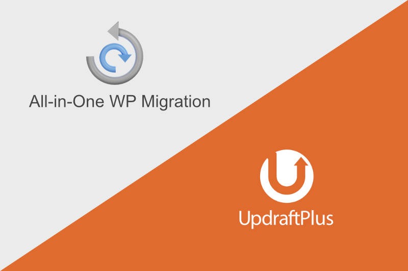 All-in-one WP MigrationとUpdraftPlus